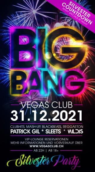Flyer BIG BANG - Die Silvester Party